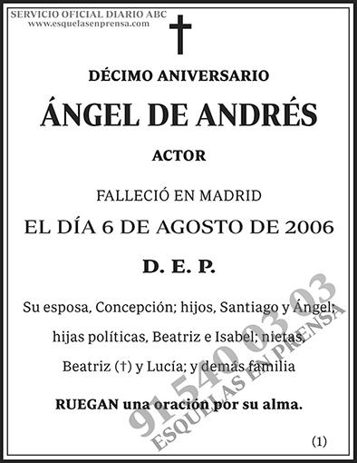 Ángel de Andrés